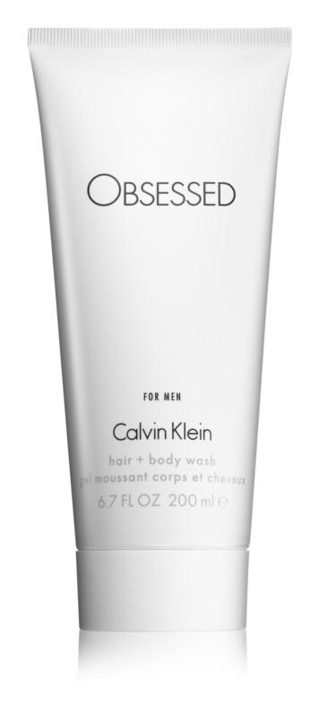Calvin Klein Obsessed tusfürdő férfiaknak 200 ml