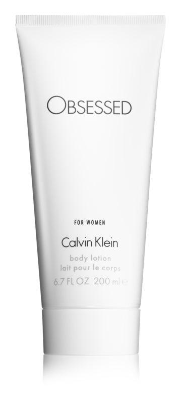 Calvin Klein Obsessed leite corporal para mulheres 200 ml