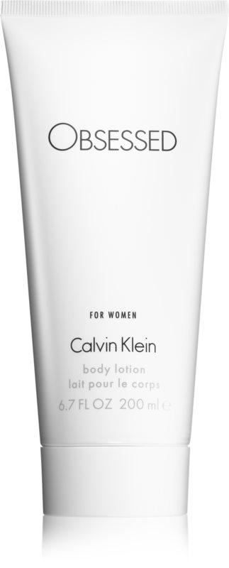 Calvin Klein Obsessed telové mlieko pre ženy 200 ml