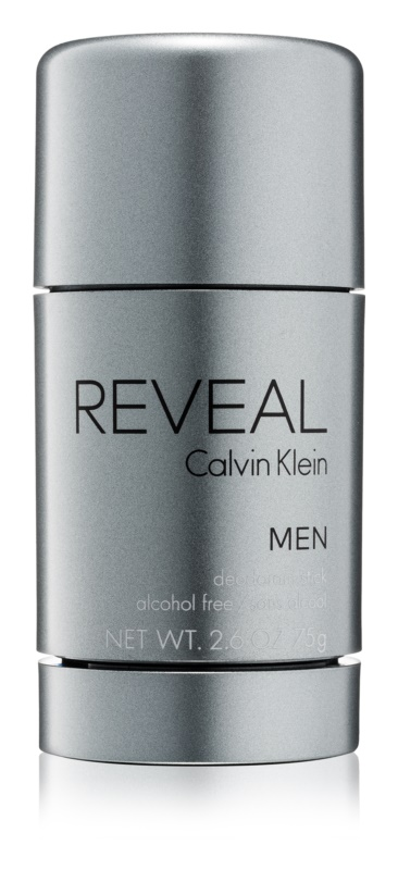 Calvin Klein Reveal Deodorant Stick for Men 75 g (Alcohol Free)