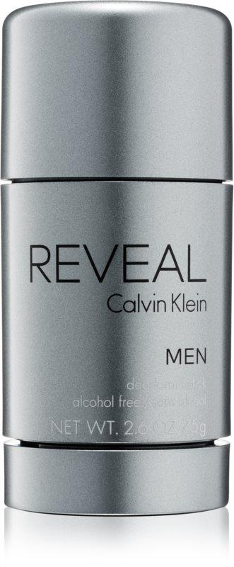 Calvin Klein Reveal déodorant stick pour homme 75 g (sans alcool)
