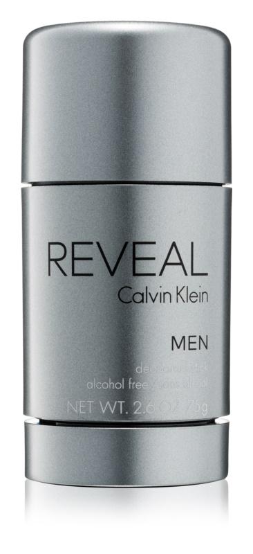 Calvin Klein Reveal dezodorant w sztyfcie dla mężczyzn 75 g (bez alkoholu)    bez alkoholu