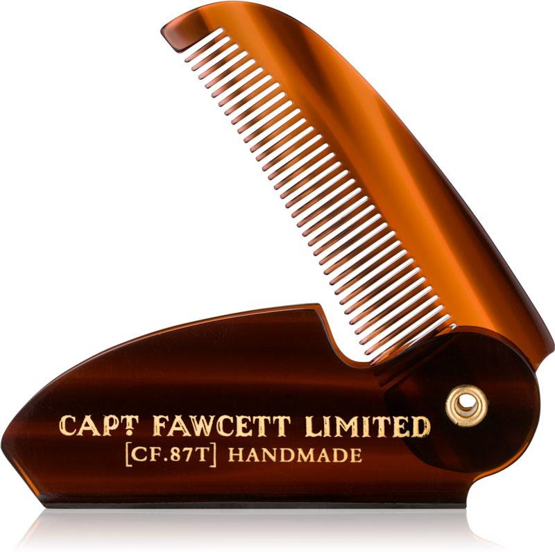 Captain Fawcett Accessories zložljiv glavnik za brke