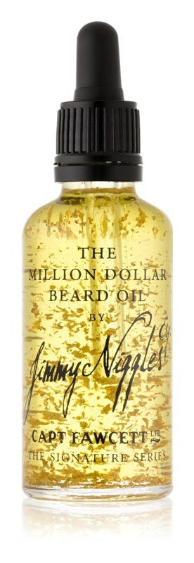 Captain Fawcett Jimmy Niggles Esq. huile pour barbe à l'or