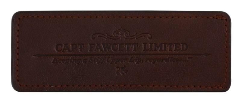 Captain Fawcett Accessories Lederen Borstel Etui