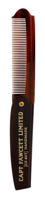 Captain Fawcett Accessories Foldable Beard Comb