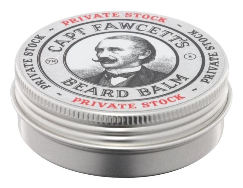 Captain Fawcett Private Stock baume à barbe