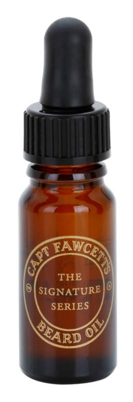 Captain Fawcett Ricki Hall´s huile pour barbe