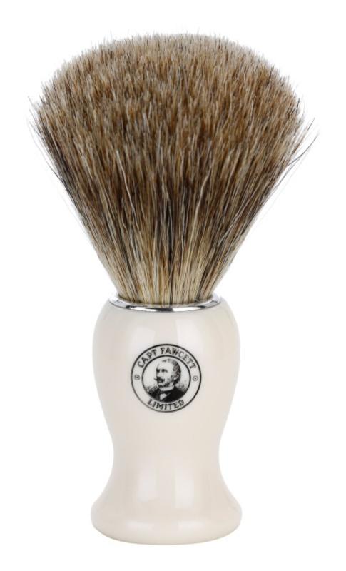 Captain Fawcett Shaving Rasierpinsel aus Dachshaar
