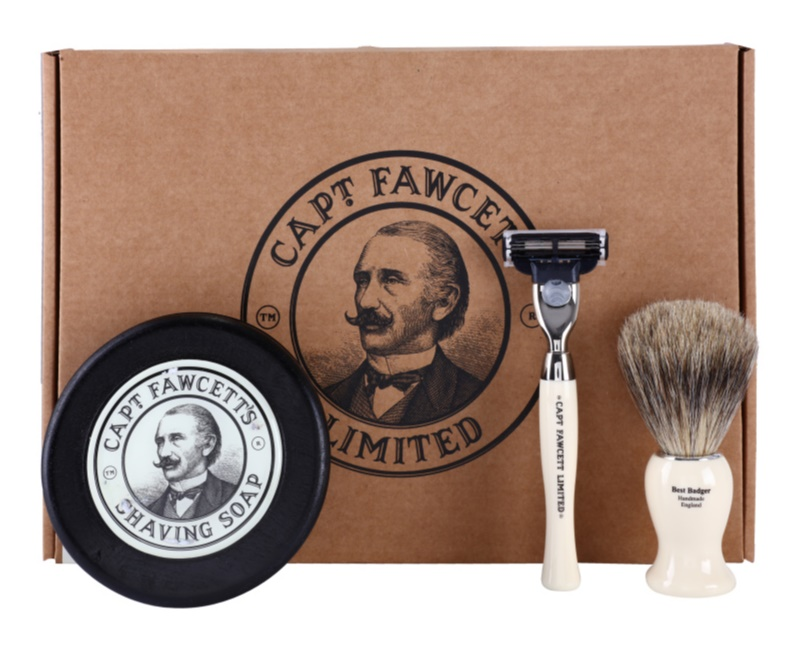 Captain Fawcett Shaving Cosmetic Set I.