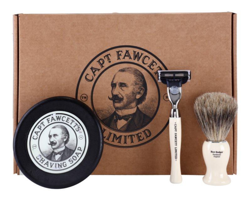 Captain Fawcett Shaving Cosmetic Set I.