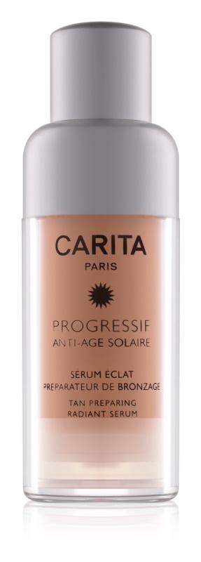 Carita Progressif Anti-Age Solaire élénkítő hidratáló szérum napozás előtt