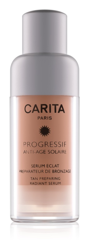 Carita Progressif Anti-Age Solaire Tan Preparing Radiant Serum