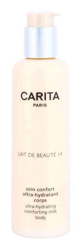 Carita Beauté 14 lait corporel hydratant au beurre de karité