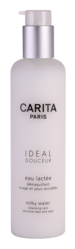 Carita Ideal Douceur tisztító ápolás az érzékeny arcbőrre és szemekre