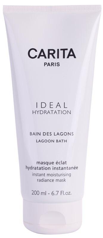 Carita Ideal Hydratation rozjasňujúca hydratačná maska s okamžitým účinkom