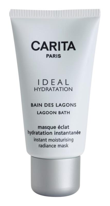 Carita Ideal Hydratation rozjasňující hydratační maska s okamžitým účinkem
