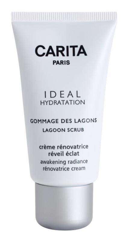 Carita Ideal Hydratation peeling facial para apaziguar a pele
