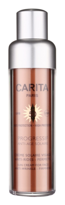 Carita Progressif Anti-Age Solaire Sun Cream For Face Anti-Wrinkle SPF 50