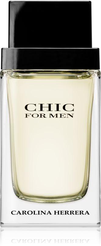 Carolina Herrera Chic For Men eau de toilette pour homme 100 ml