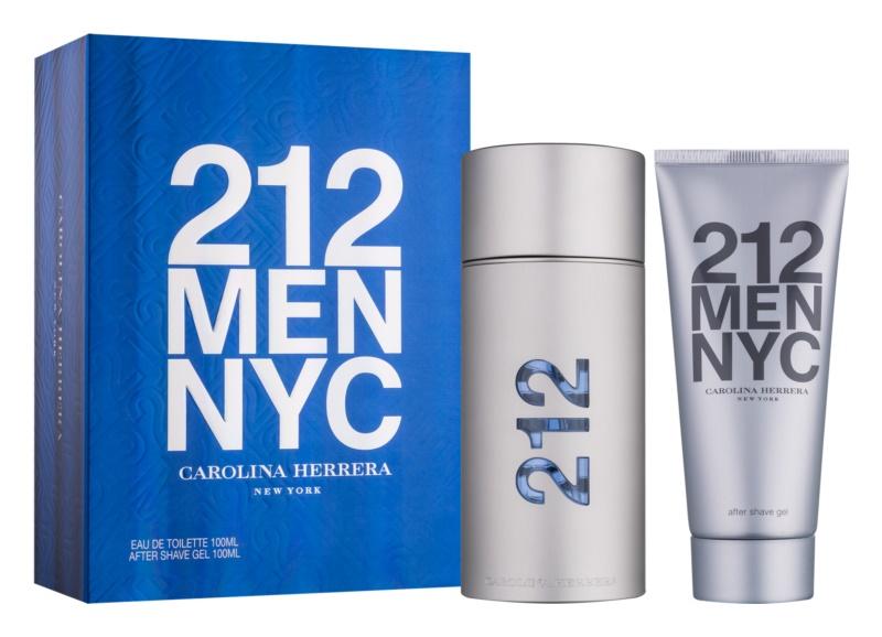 Carolina Herrera 212 NYC Men Geschenkset VII.