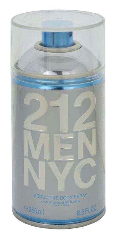Carolina Herrera 212 NYC Men Body Spray for Men 250 ml