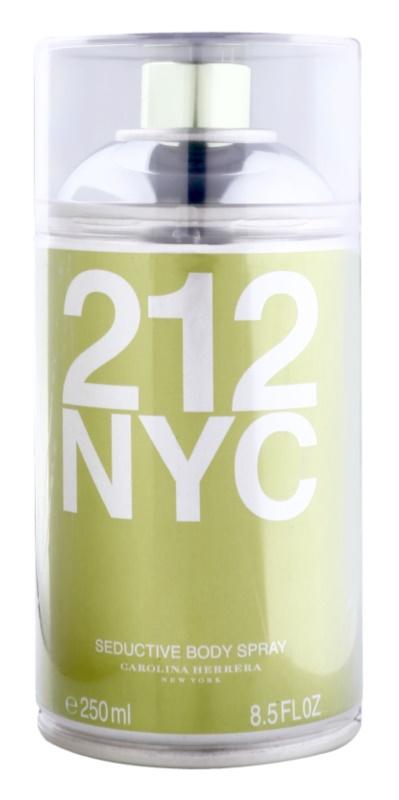 Carolina Herrera 212 NYC telový sprej pre ženy 250 ml