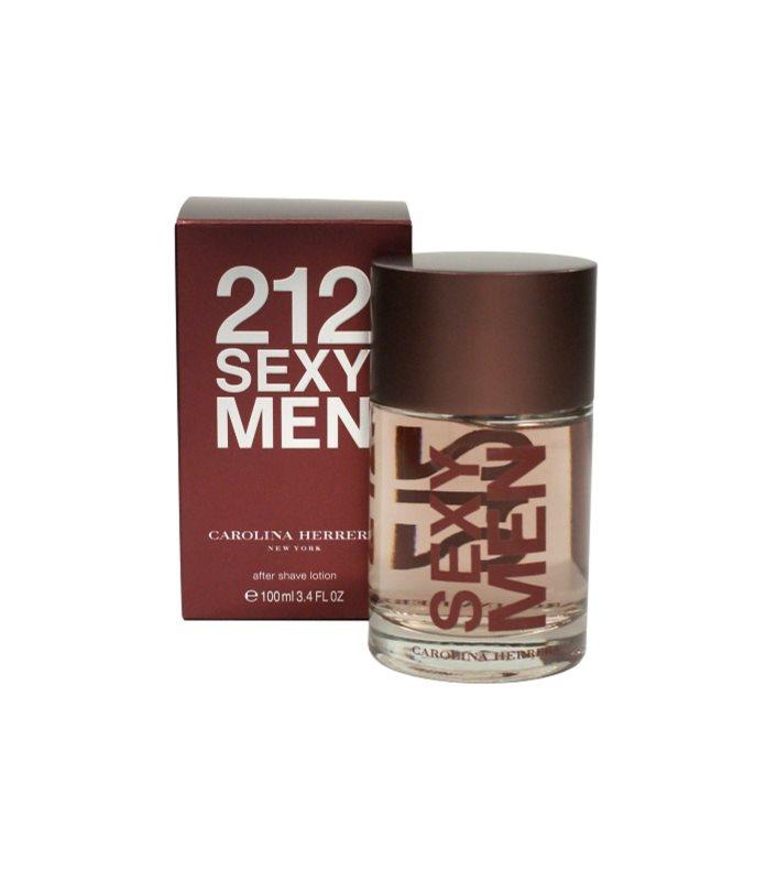 Carolina Herrera 212 Sexy Men voda po holení pre mužov 100 ml
