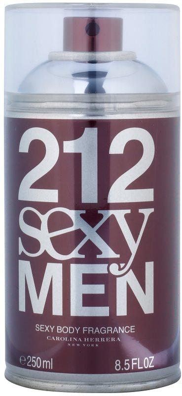 Carolina Herrera 212 Sexy Men Körperspray für Herren 250 ml