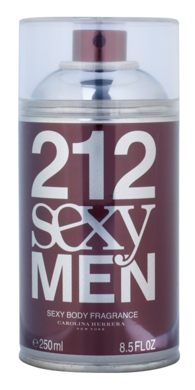 Carolina Herrera 212 Sexy Men spray de corpo para homens 250 ml