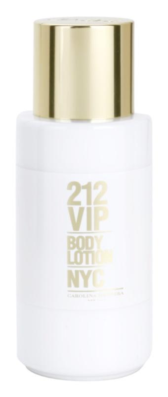 Carolina Herrera 212 VIP telové mlieko pre ženy 200 ml