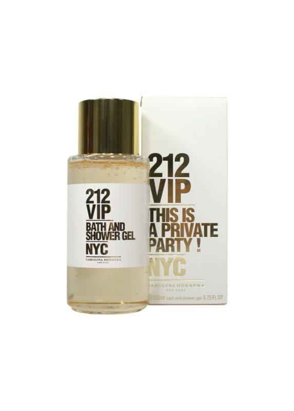 Carolina Herrera 212 VIP gel doccia per donna 200 ml