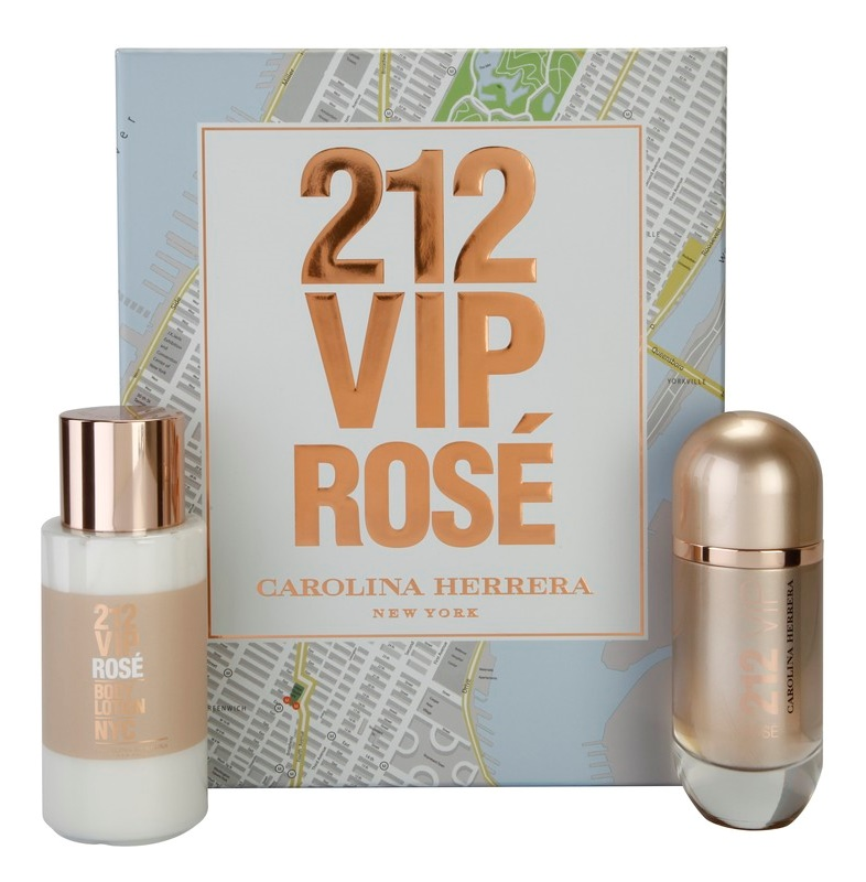 Carolina Herrera 212 VIP Rosé dárková sada II.