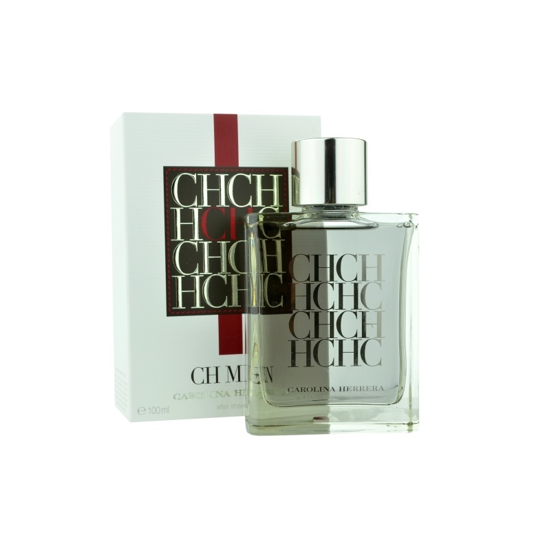 Carolina Herrera CH Men Aftershave lotion  voor Mannen 100 ml