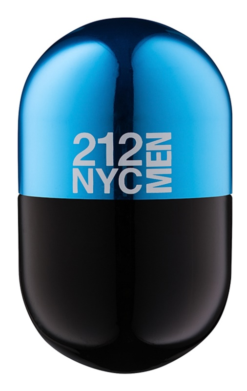 Carolina Herrera 212 NYC Men Pills toaletna voda za moške 20 ml