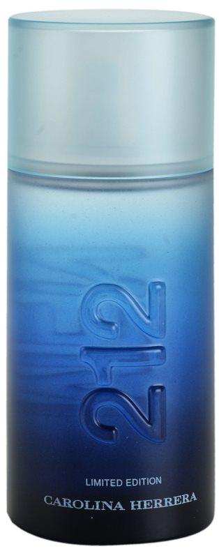 Carolina Herrera 212 Summer Men Eau de Toilette for Men 100 ml Limited Edition