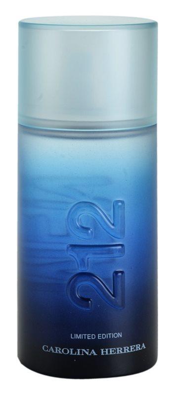 Carolina Herrera 212 Summer Men eau de toilette pour homme 100 ml edition limitée