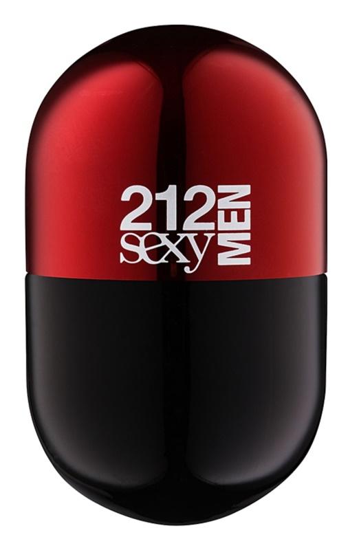 Carolina Herrera 212 Sexy Men Pills Eau de Toilette voor Mannen 20 ml