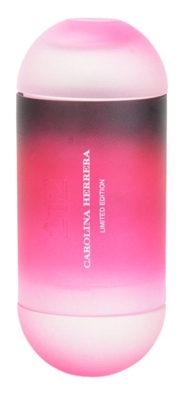 Carolina Herrera 212 Summer toaletná voda pre ženy 60 ml limitovaná edícia