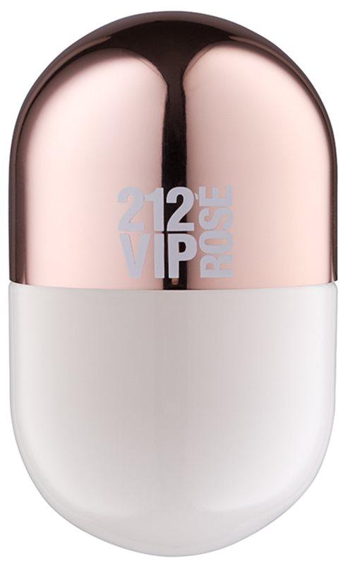 Carolina Herrera 212 VIP Rosé Pills eau de parfum per donna 20 ml