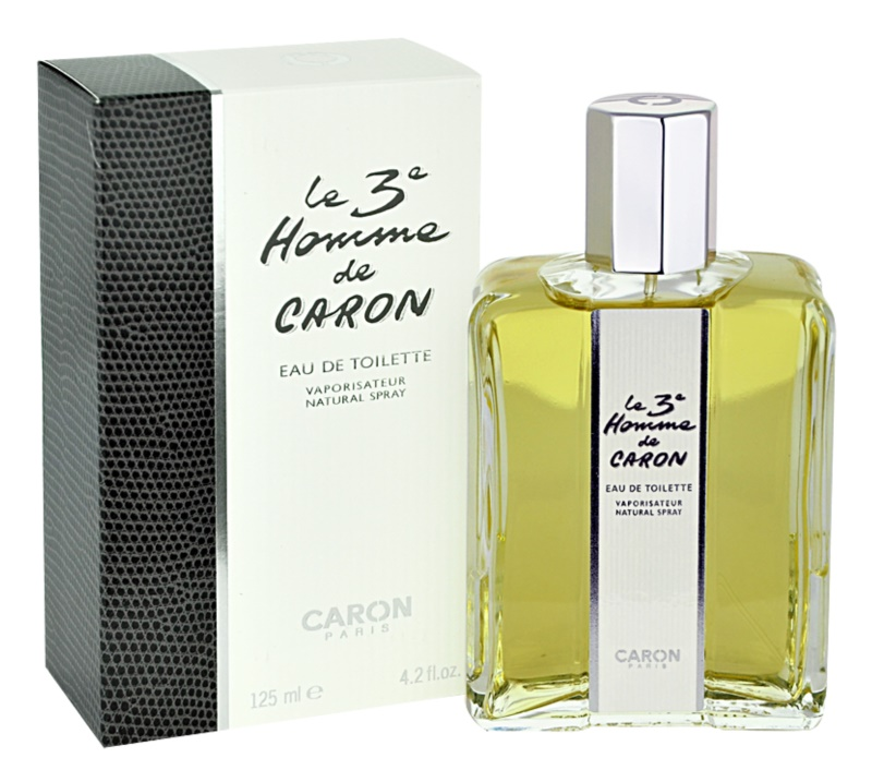 Caron Le 3 Homme Eau de Toilette für Herren 125 ml