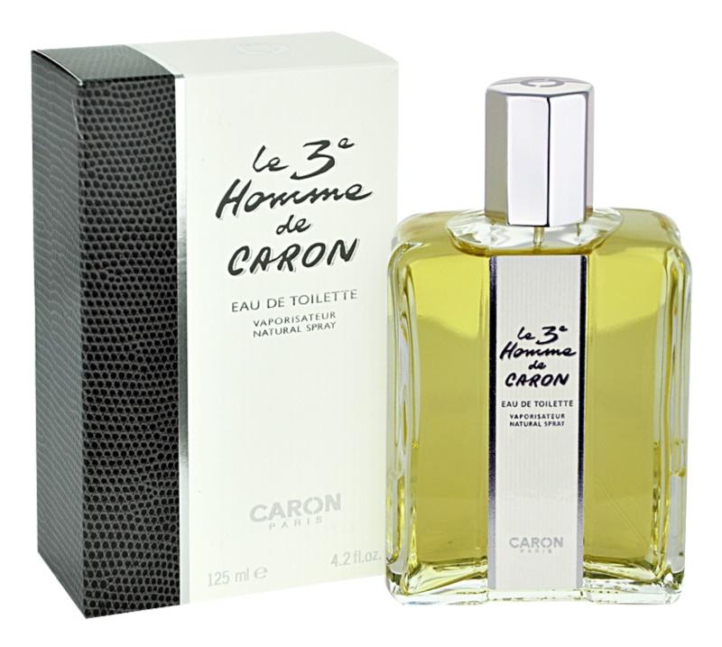 Caron Le 3 Homme Eau de Toilette para homens 125 ml