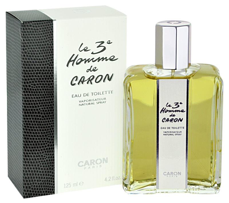 Caron Le 3 Homme woda toaletowa dla mężczyzn 125 ml