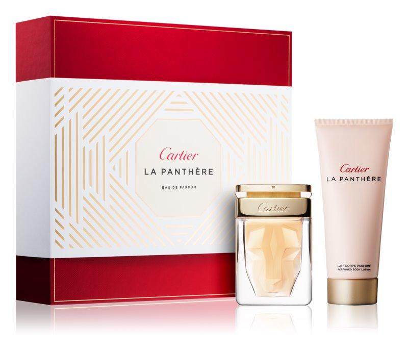 Cartier La Panthère darčeková sada IX.