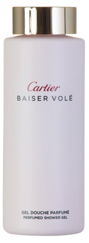 Cartier Baiser Volé sprchový gel pro ženy 200 ml