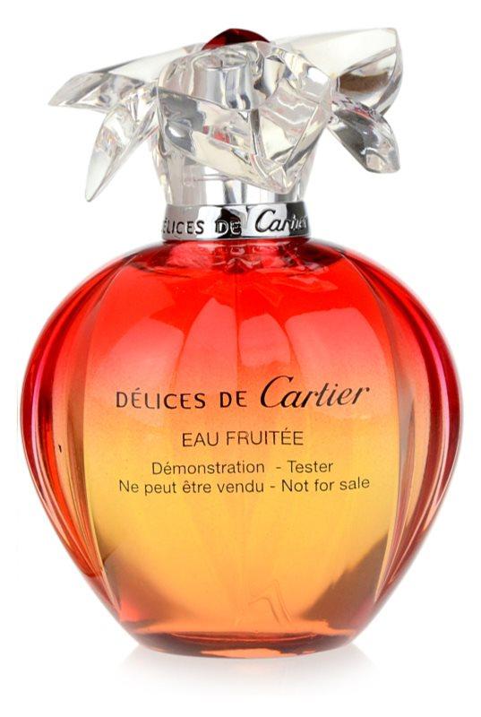 Cartier Délices de Cartier Eau Fruitée toaletná voda tester pre ženy 100 ml