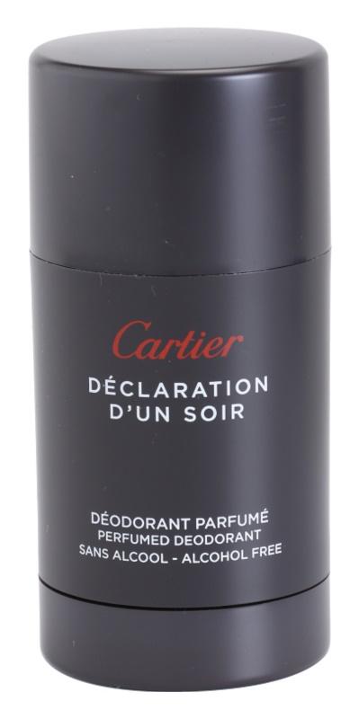 Cartier Déclaration d'Un Soir dezodorant w sztyfcie dla mężczyzn 75 ml
