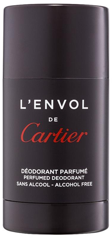Cartier L'Envol dezodorant w sztyfcie dla mężczyzn 75 ml (bez alkoholu)    bez alkoholu