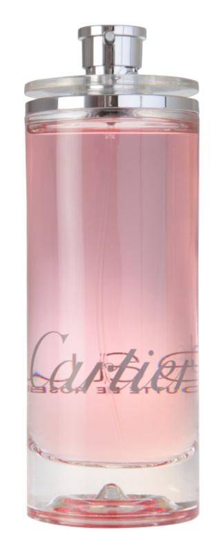 Cartier Eau de Cartier Goutte de Rose toaletní voda pro ženy 200 ml