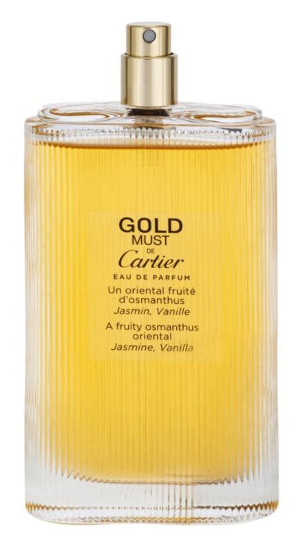 98a09134a0e Cartier Must de Cartier Gold Eau de Parfum Tester para mulheres 100 ml